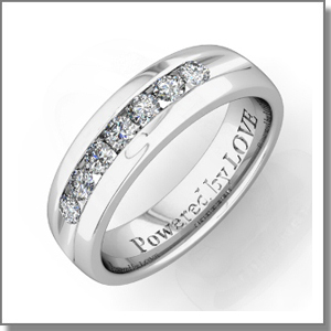 Mens Diamond Wedding Bands @ My Love Wedding Ring