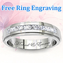 Free Ring Engraving | My Love Wedding Ring